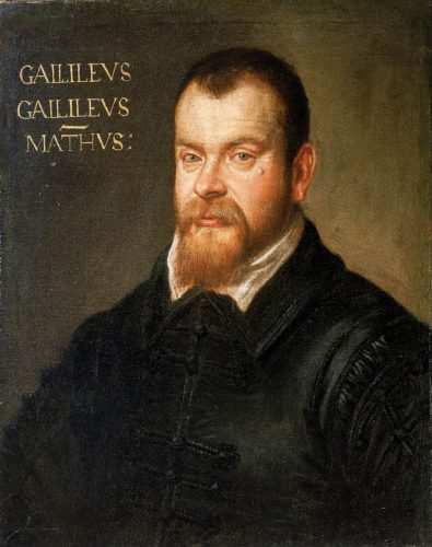 Portrait of Galileo Galilei - Magis Center