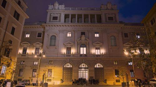 pontifical gregorian university in rome