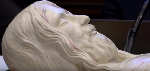3D image of Jesus from Shroud of Turin face