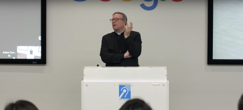 Bishop Barron talk at Google