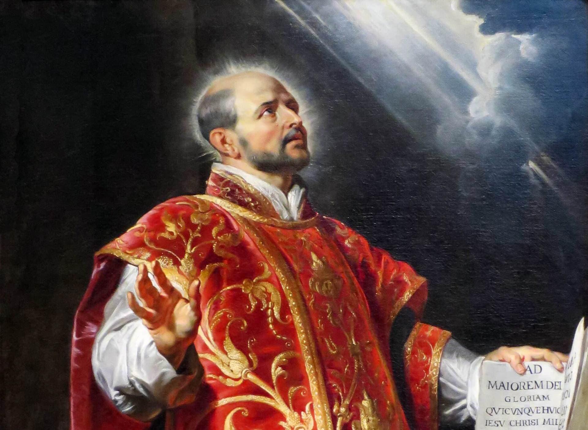 st. ignatius of loyola 3 steps to contemplative prayer
