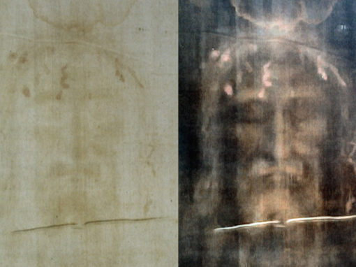 Shroud of Turin, Negative and Positive
