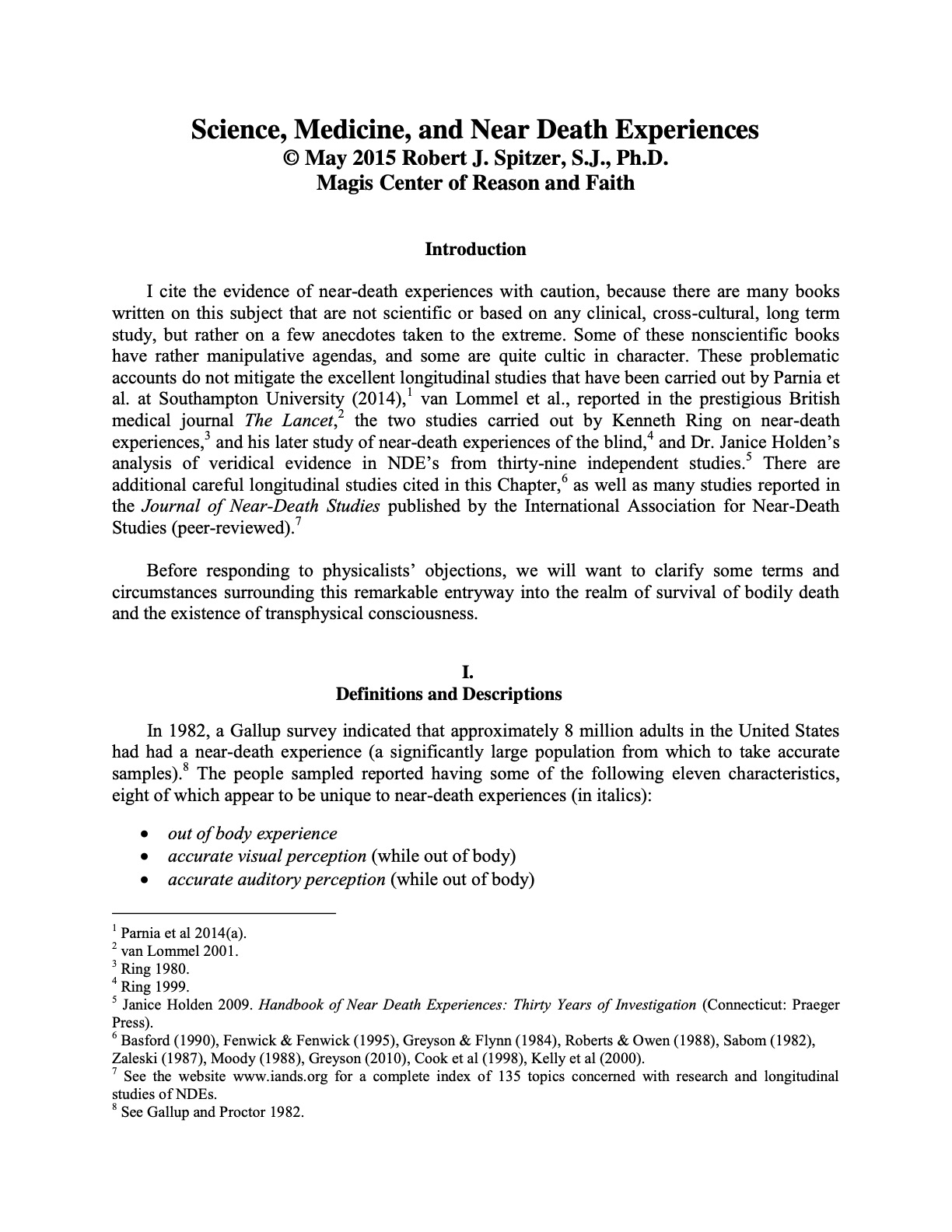 Science_Medicine_and_NDEs_First Page