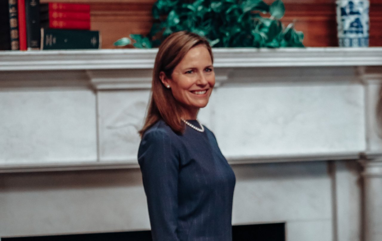 Amy Coney Barrett Channels Peace to Judiciary Committee Members
