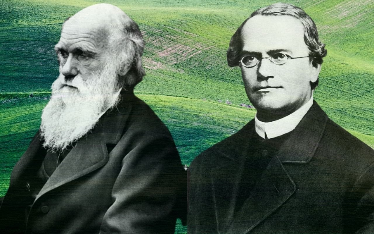 Gregor Mendel and Charles Darwin: Two Men and a Theory